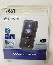 Sony Digital Media Player 2GB NWZ-S615F Black Walkman - New