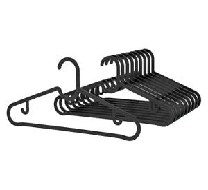 IKEA SPRUTTIG Hanger, black new , 10 pack
