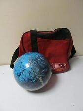 Ten Pin Bowling Ball Groove Reactive FOL 31834 Made in USA P.B 6.15 kg With Bag