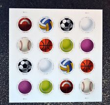 2017USA Forever - Have a Ball - Sheet of 16 - Mint USPS Postage balls