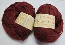 RARE! 2 x 50g Rowan DESIGNER DK WOOL 100% Pure New Wool Yarn Shade #663/H-12L4