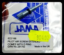 One Genuine AMAL CARBURETTOR 622/168 AIR CONTROL PILOT SCREW in Amal packaging