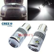 Xenon White 10W CREE LED Bulbs For 08+ Mitsubishi Lancer Evo Daytime DRL Lights