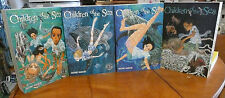 Children of the Sea vol. 1 - 4 Manga Graphic Novel Book Complete Lot in English