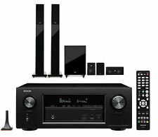 DENON AVR-X2300W 7.2CH AV RECEIVER + TANNOY HTS-201 HOME THEATRE SPEAKER PACKAGE