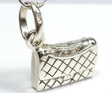 "GENUINE ""LINKS OF LONDON"" STERLING SILVER HAND BAG BRACELET CHARM PENDANT"