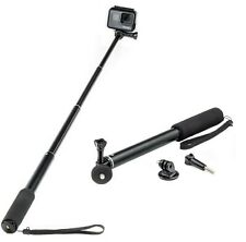 Extendable Selfie Stick Monopod for GoPro Hero 8 7 6 5 4 3 Action Cam Go Pro HD