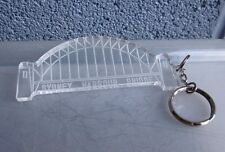 SYDNEY HARBOUR BRIDGE transparent jumbo keychain Australia steel arch