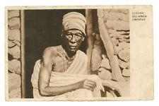 COSTUMI DELL'AFRICA ORIENTALE ANZIANO ERITREA COLONIE D'ITALIA EROTICA 1935