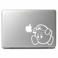 Mario Kirby Vinyl Sticker Decal for Macbook Air Pro Laptop Car Window SUV Bumper