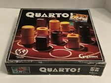 QUARTO! Wooden Puzzle Game! Hard To Find!