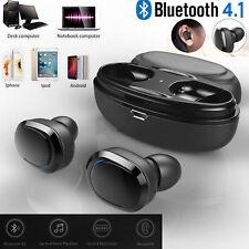 Wireless Earbuds Mini True Bluetooth 5.0 Twins Stereo Earphones In-Ear Headset