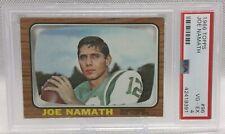 Joe Namath - 1966 Topps Rookie Card RC - PSA 4 - ProGradeSports