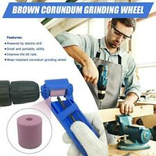 Corundum Wheel Portable Drill Bit Sharpener Wear Resisting Grinding Tool H4