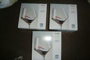 Rotweingläser, Kristallglas von Zwiesel, neu, 6 Stück