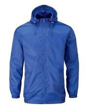 Cotton Traders Hooded Showerproof Jacket & Bag Size Large NEW RRP £28.99 Blue