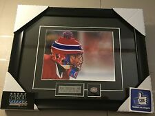 Montreal CANADIENS Jose THEODORE unsigned Hockey Frame Cadre Classic Heritage