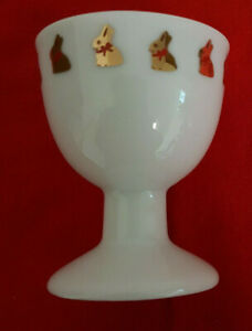 Thomas Rosenthal Lindt Chocolate RARE Limited Edition Easter Bunny Egg Cup