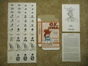 Discovery Games O. K. Corral Card Game 1980