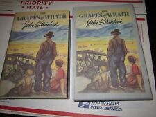 Steinbeck The Grapes of Wrath Facisimile First Edition Library Slipcase Book