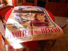 MOVIE POSTER  LA NOTTE E' IL MIO REGNO  JEAN GABIN  1951 140 X 99 CM