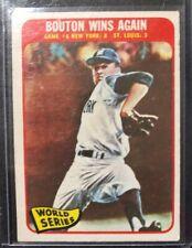 1965 Topps World Series Game 6 #137 Cardinals Yankees Baseball Card