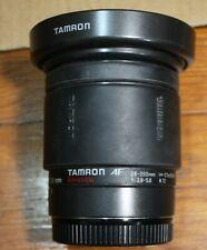 Tamron Aspherical AF 28-200mm f/3.8-5.6 Canon EF Mount  Zoom Lens, hood + cap