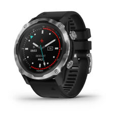 Garmin Descent Mk2 Stainless Steel with Black Band