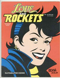 Love and Rockets #15 Near Mint- Fantagraphics Books Gilbert & Jaime Hernandez