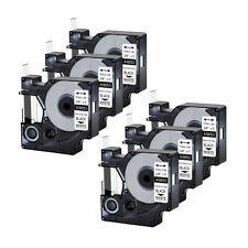 6pk For Dymo Rhino 42005200 Heat Shrink Tube 18053 Industry Label Tape 38x5