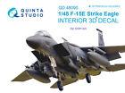 Quinta QD48090 1/48 F-15E 3D-Printed  coloured interior for GWH kit