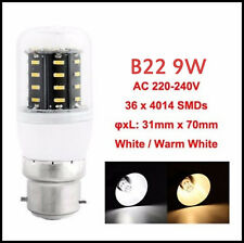AU 9W~30W LED Corn Bulb Energy Saving Light E27 B22 E14 GU10 G9 4014 SMD Globe