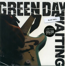 "Green Day ‎– Waiting 7"" Single, Baby Blue"