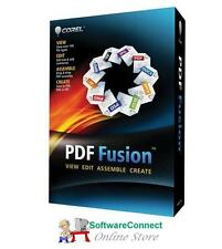 Corel PDF Fusion pdf create edit assemble combine jpeg to pdf Genuine GUARANTEE!