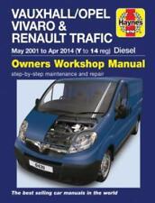 Haynes Workshop Manual Vauxhall Vivaro 2001 2014 Service & Repair
