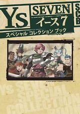 Ys 7 Seven Special Collection Book Art Illustration PSP SK88*