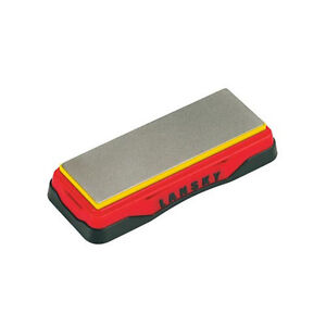 "Lansky 6"" x 2"" Diamond bench Stone Ultra Fine Non-Slip Rubber Feet LDB6E"