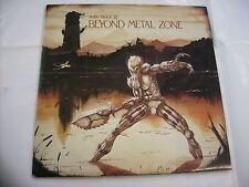 BEYOND METAL ZONE - RARE 2LP VINYL MFN 1986 - METALLICA - DIO - SAVATAGE