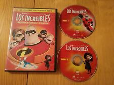 LOS INCREIBLES 2 X DVD + MUCHOS EXTRAS EDICION ESPECIAL ESPAÑOL ENGLISH REGION 2