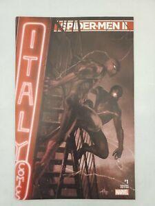Spider Men II #1 Dell'otto Monochrome Variant Cover 1,500 Printed RARE