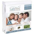 Twin Classic Plus Hypoallergenic 100% Waterproof Mattress Protector Vinyl Free