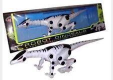 Robot Mini dinosaur toy walking sound making flashing eyes battery operated toy