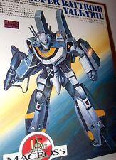 Bandai Macross 1/100 VF-1S Super Battroid Valkyrie Model Kit P22 JAPAN VINTAGE