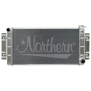 205142 Northern 55-57 Chevy Hotrod Belair Crossflow Conversion Aluminum Radiator