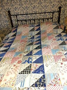 Ikea Double Filled Patchwork Bedspread