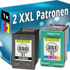 Set TINTE PATRONEN für HP 350+351 XL J5730 J5780 J5785 J6410 J6424 J6480 C5580
