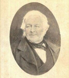 CDV Photo Man Named Thomas Fall Hobart Australia Albert Sargeant Studio
