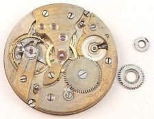 Gruen Verithin  Partial Disassembled Pocket Watch Movement - Parts / Repair