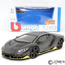 Lamborghini Centenario 1:43 Scale Die-cast Kids Toy Car Bburago Street Fire