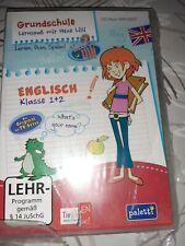 CD-Rom: neu, Grundschule Lernspaß mit Hexe Lilli, Englisch, 1. u. 2. Klasse
